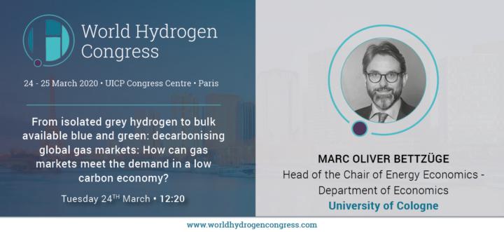 Postponed due to Covid-19: World Hydrogen Congress in Paris