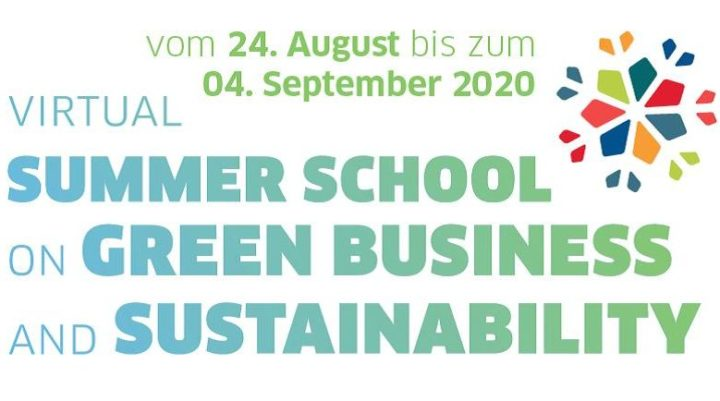 Virtual Summer School on Green Business and Sustainability 2020