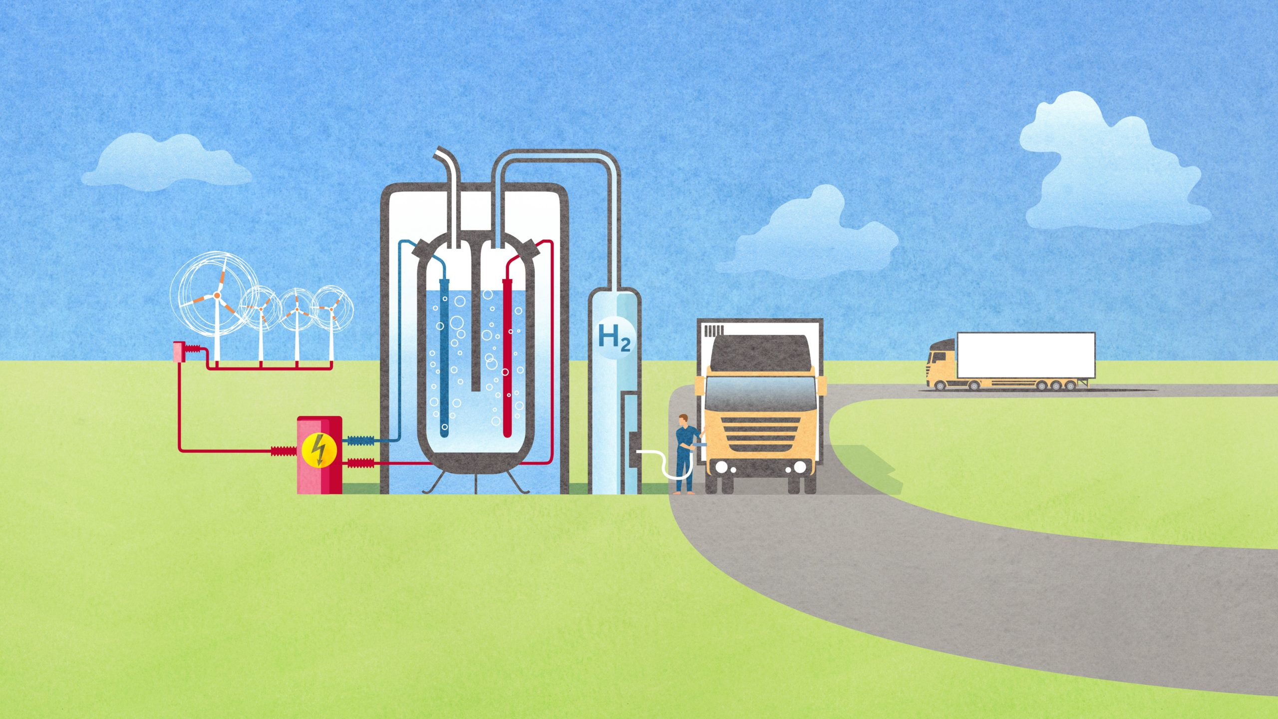 Hydrogen market ramp-up: energy suppliers take on a central role