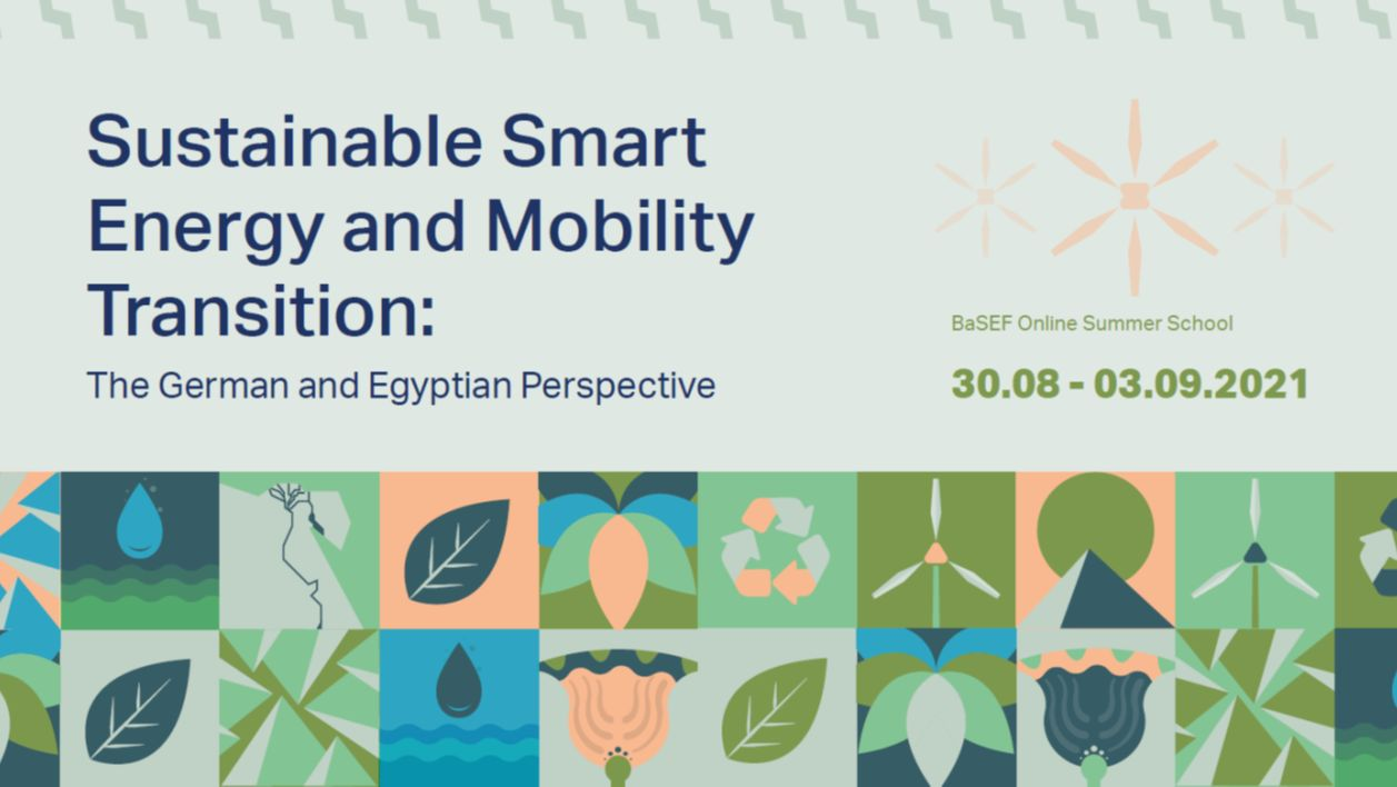 Online Summer School and Networking Event – Smart Energy and Mobility Transition
